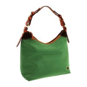 Erica Sport Sac Large Emerald Nylon Hobo Bag